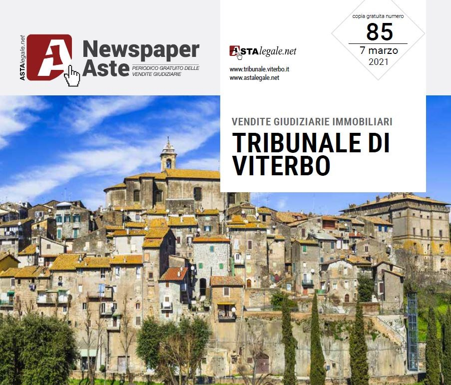 Newspaper Viterbo 7 Marzo