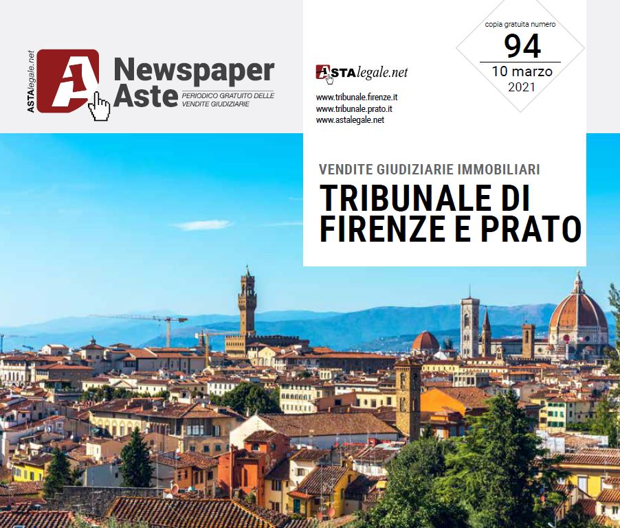 Newspaper Firenze Prato Marzo