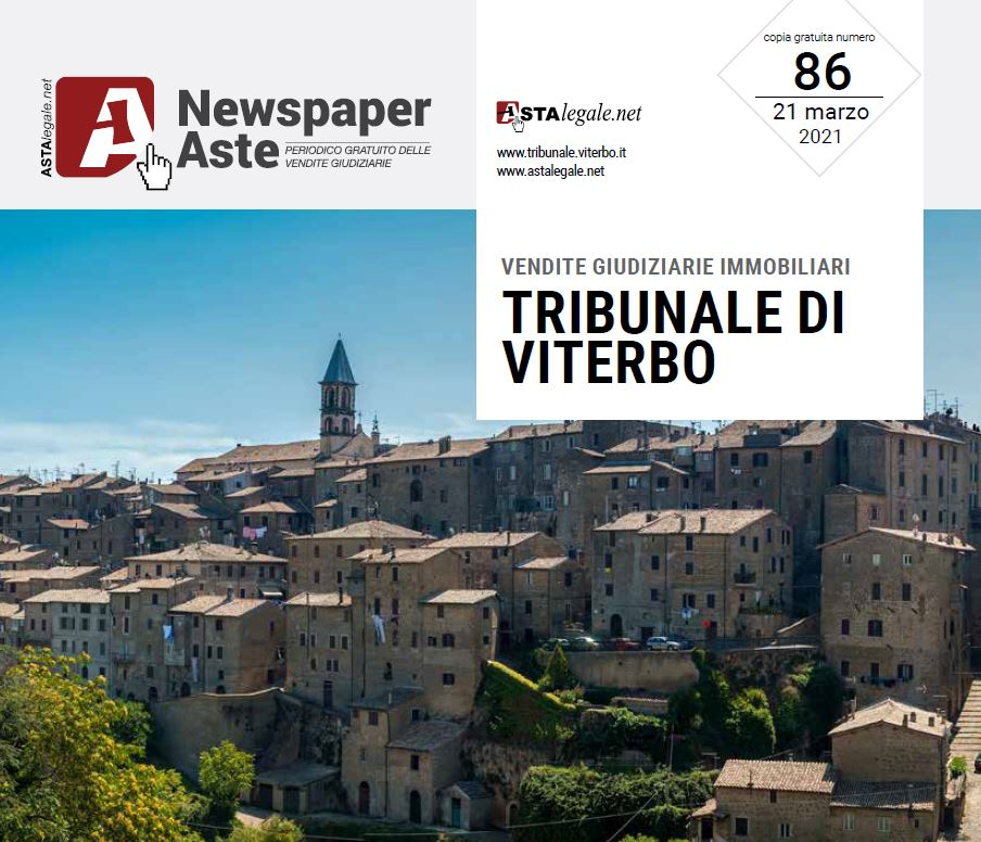 Newspaper Viterbo 21 Marzo